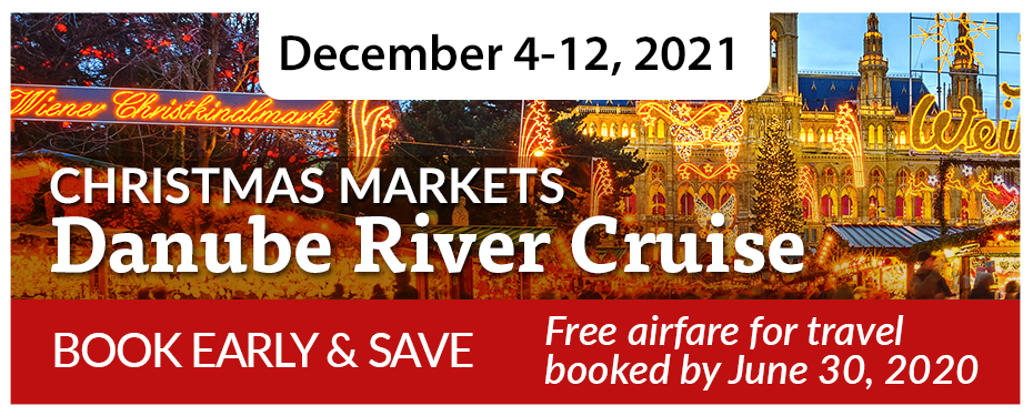 Christmas Markets Danube River Cruise